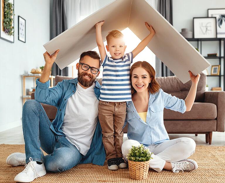 Immobilienkauf als Familienwunsch